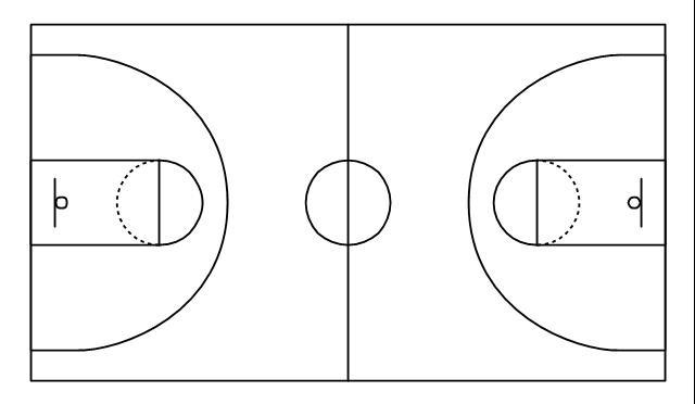 Simple Basketball Court Basketball Court Basketball Court Diagram Basketball Court Layout Basketball Court Layout Basketball Videos Basketball Tattoos