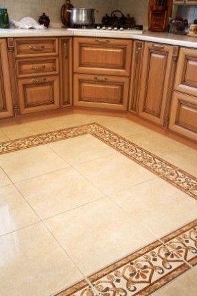 Decorative Ceramic Tile Borders For 2020 Ideas On Foter Kitchen Floor Tile Kitchen Floor Tile Patterns Tile Floor