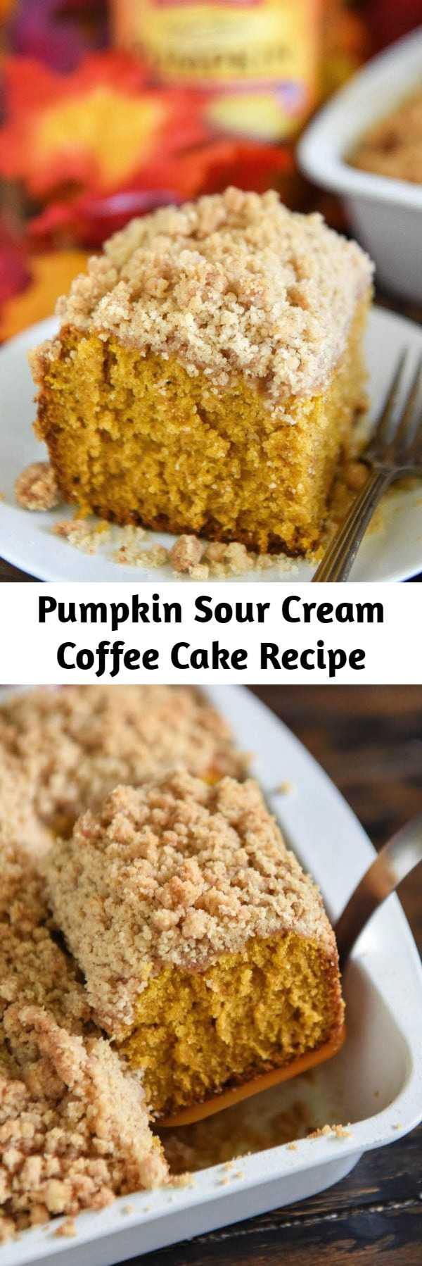 Pumpkin Sour Cream Coffee Cake Recipe Mom Secret Ingrediets Recipe In 2020 Sour Cream Recipes Coffee Cake Recipes Breakfast Coffee Cake