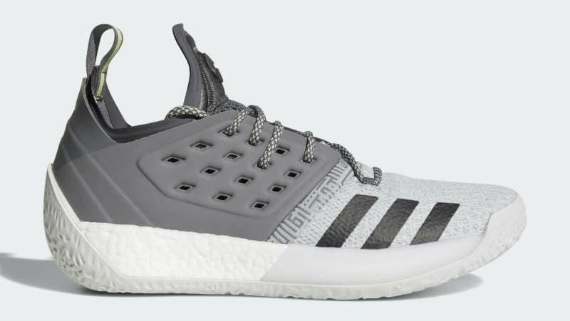 hot sale online e8c4f c9711 Adidas Harden Vol. 2 Concrete Grey Release Date AH2122   Sole Collector