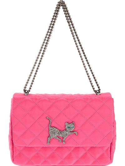 MOSCHINO CHEAP And CHIC Quilted Cat Bag