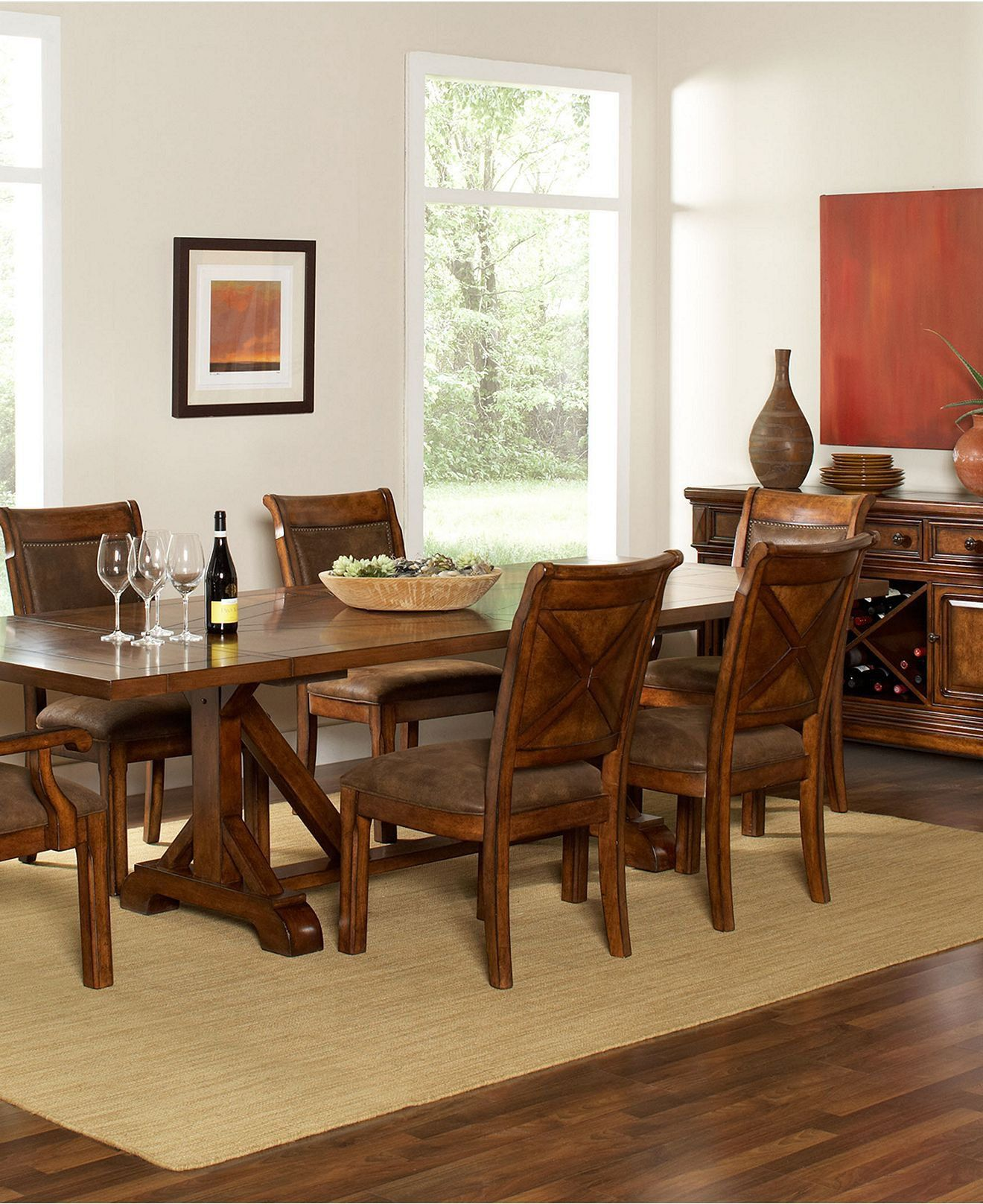 Macy s Dining Room Chairs Macy s Dining Room Furniture Collection