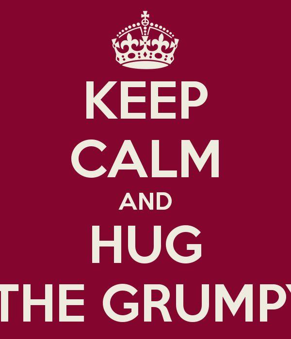 Keep CALM and hug...