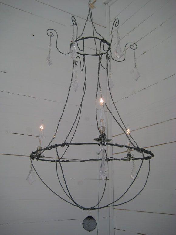 patriks prylar st lkrona luffarsl jd pinterest fil de fer fil et lustre. Black Bedroom Furniture Sets. Home Design Ideas