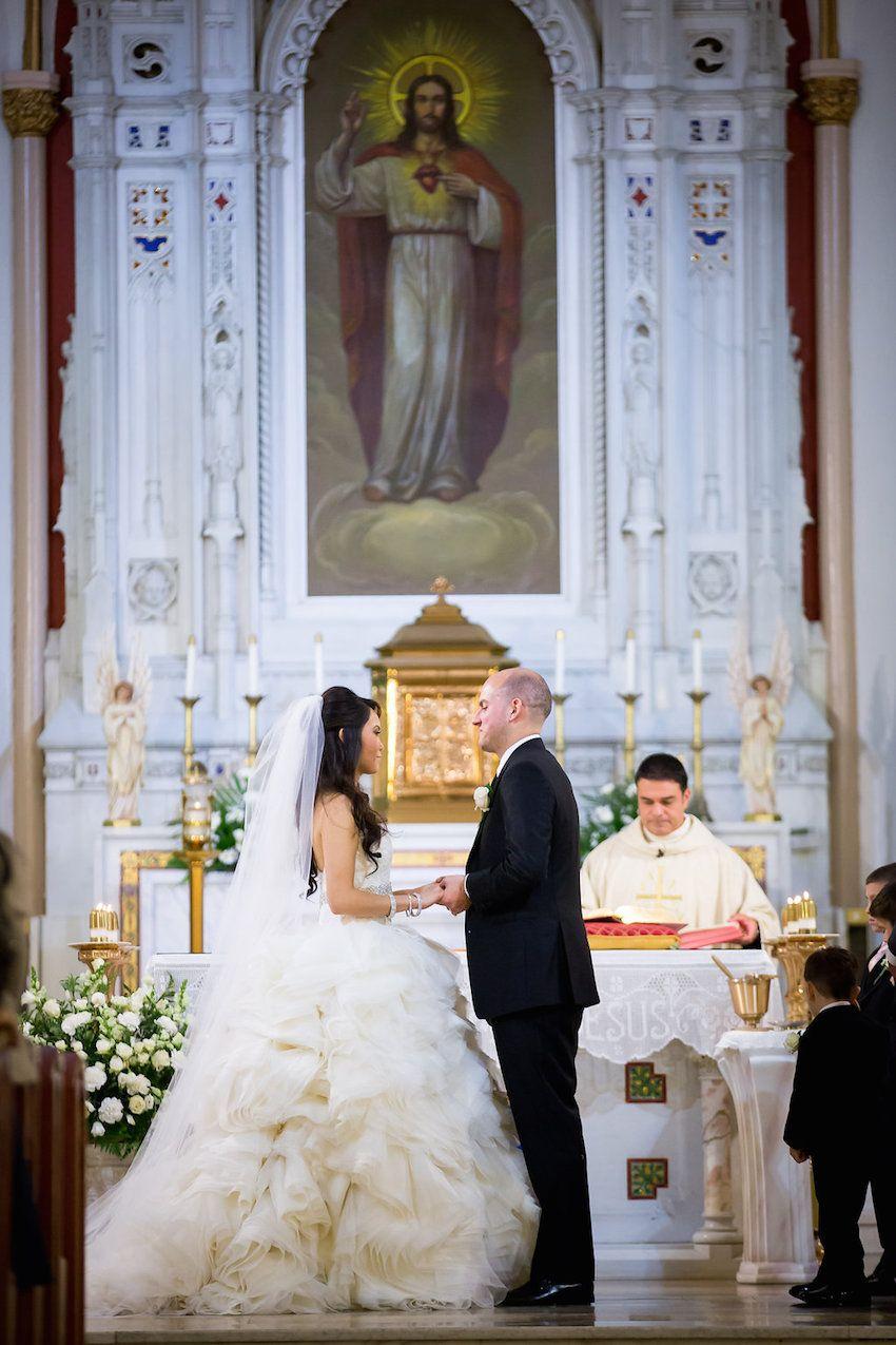 Catholic Ceremony & Estate Reception with TravelThemed