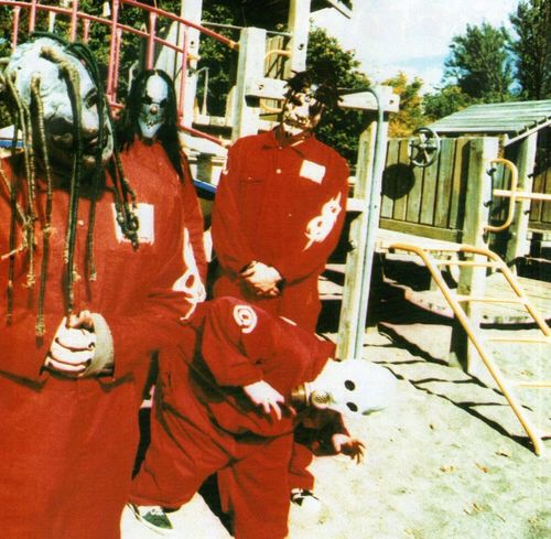 Corey Taylor, Mick Thomson, Sid Wilson and Jim Root