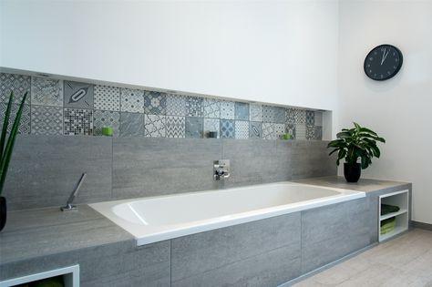 Eine Badewanne mit Hartschaumplatten verkleiden #fliesenliebe - moderne badezimmermbel
