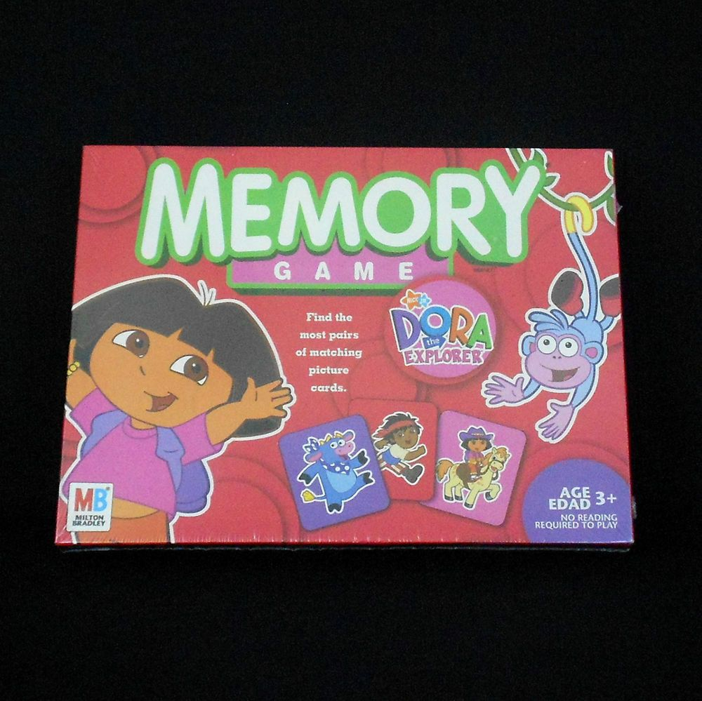 Dora the Explorer Memory Game MB Milton Bradley Hasbro