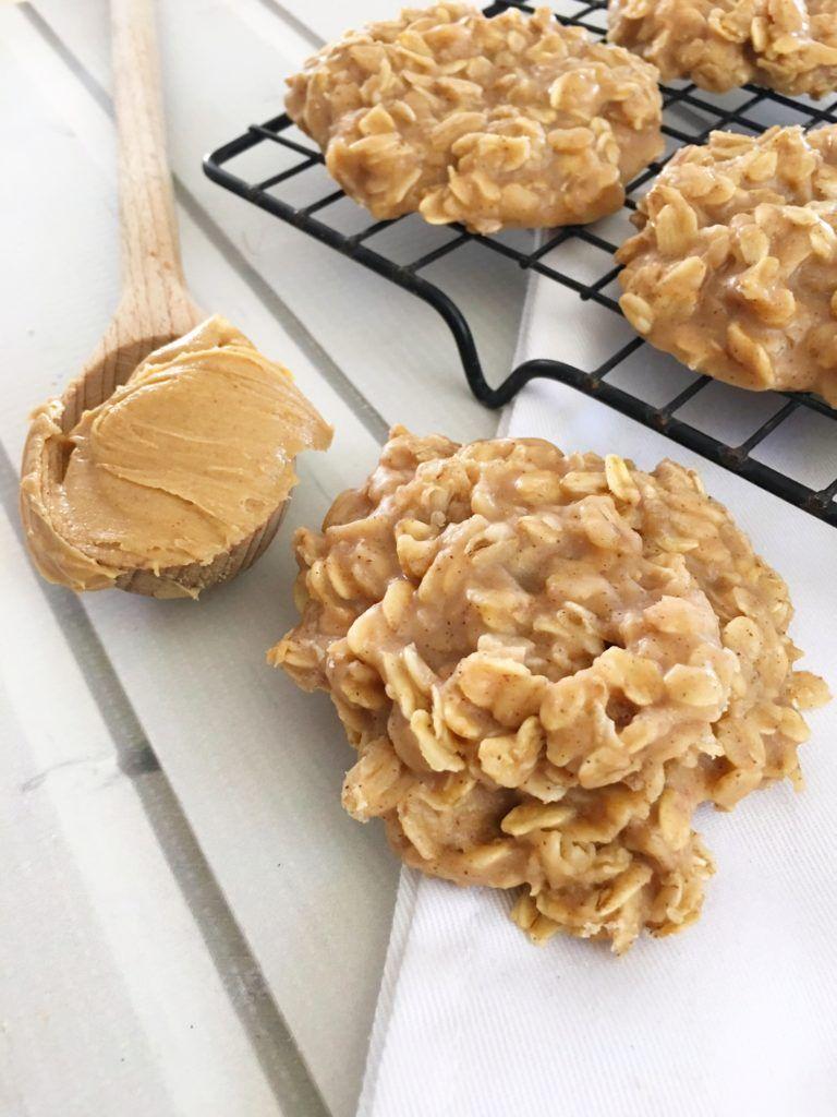 Peanut Butter No Bake Cookies Recipe Peanut Butter No Bake Amazing Cookie Recipes Desserts