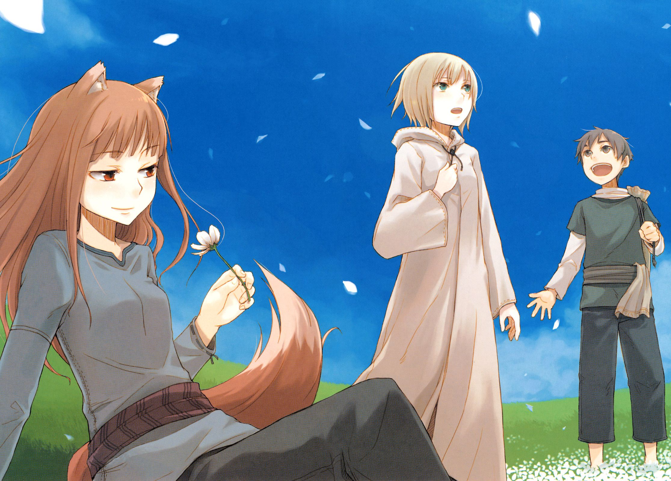 173 Spice And Wolf Hd Wallpapers Backgrounds Wallpaper Abyss