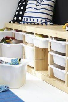 Creative Storage Solutions For Messy Kidsu0027 Toys Via @PureWow