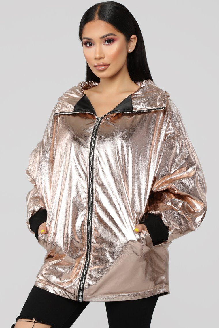 Always Accurate Jacket Rose Gold Jackets Fashion Clothes