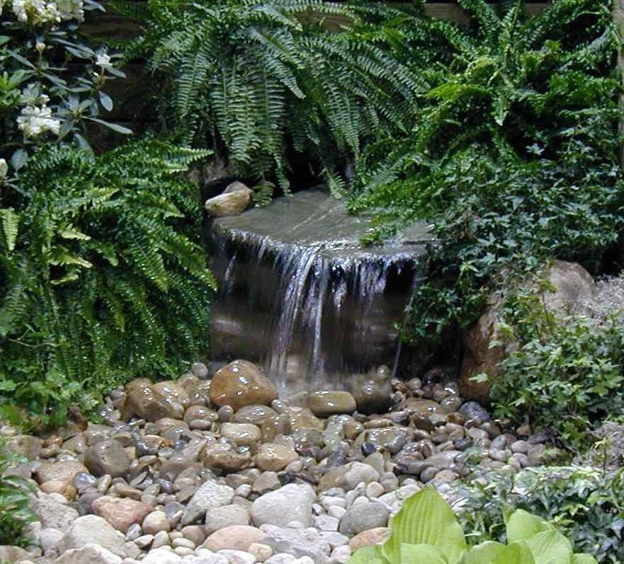 Custom Pro Diy Pondless Waterfall Kit W Grate 2000gph Pump Pondless Water Garden Diy Pondless