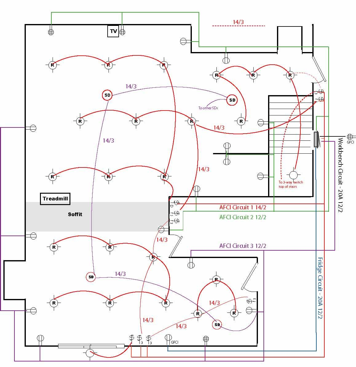 pin by joseph sochalski on homes diagrams pinterest wiring diagram for a house home wiring  sc 1 st  MiFinder : house wiring software free download - yogabreezes.com
