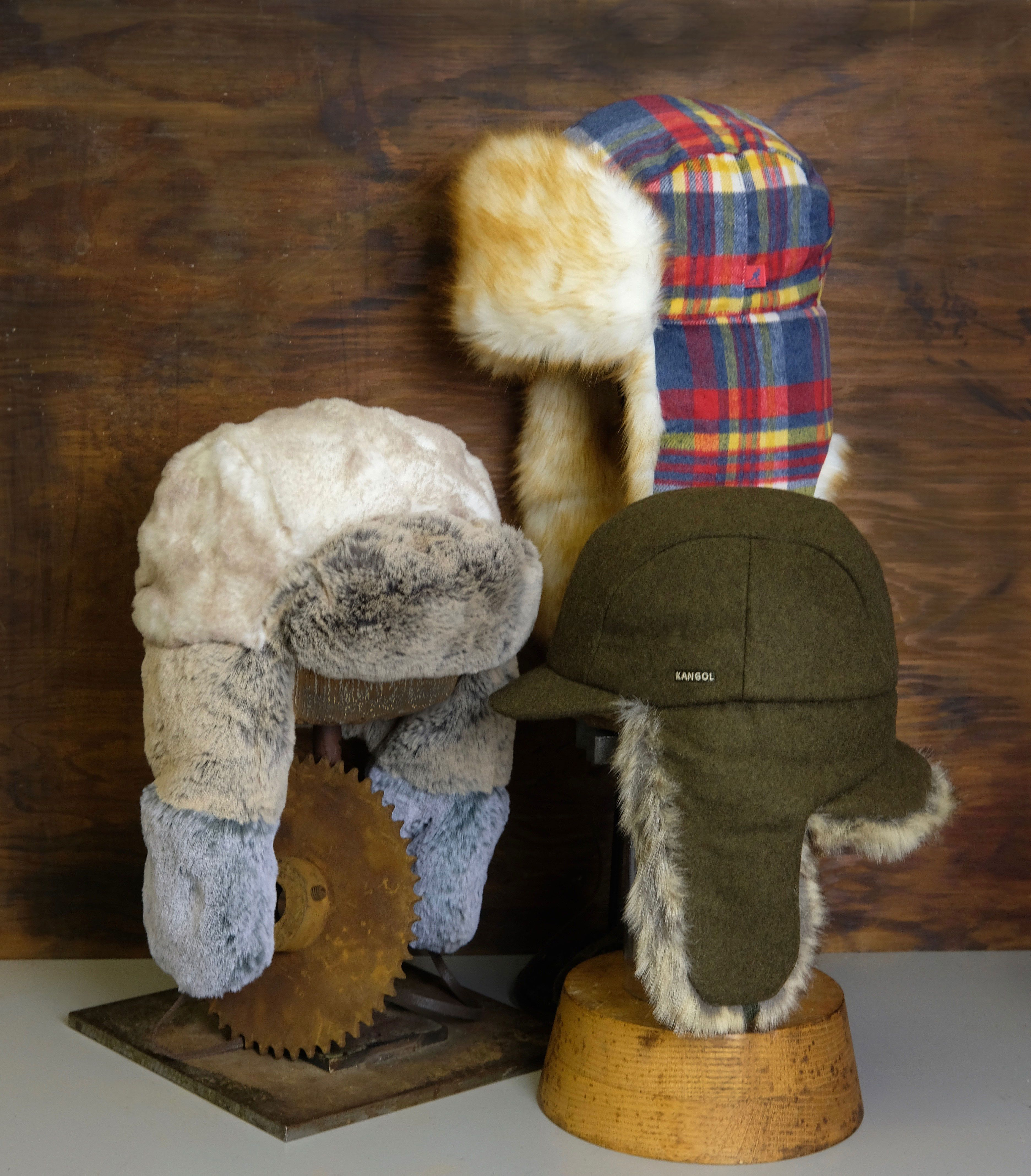 You re going to want a trapper before winter gets here to keep your head  warm and ears covered. We offer a huge assortment of both wool and leather  trappers ... d1a577aaebf