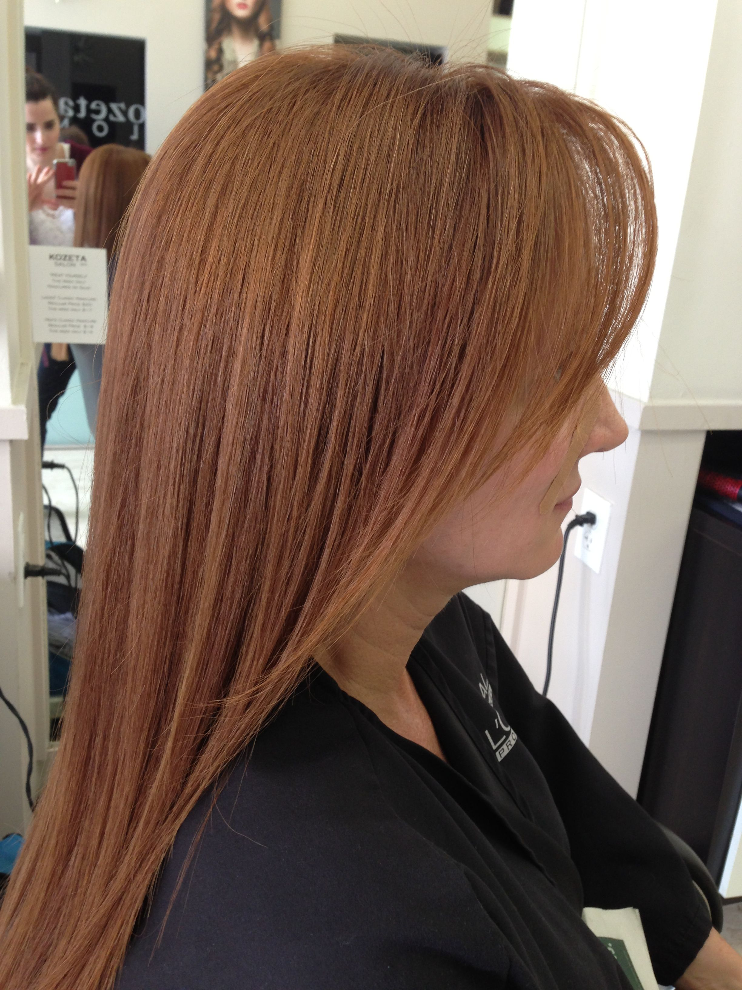 Loved This Colour 634735 Inoa Loreal Professional Redhead