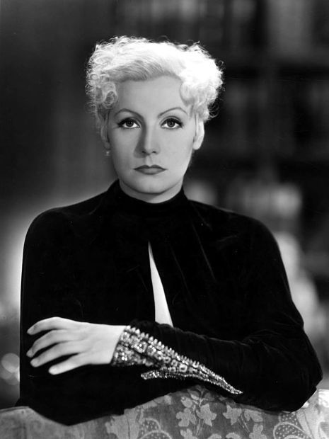 In Stars A Greta BeautifulOld Blonde As Garbo Platium Hollywood Y6fgyb7