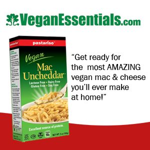 Hope everyone is having a wonderful Friday! You can get Pastariso Vegan and Gluten Free Mac Uncheddar at VeganEssentials.com https://store.veganessentials.com/vegan-mac-uncheddar-glute…
