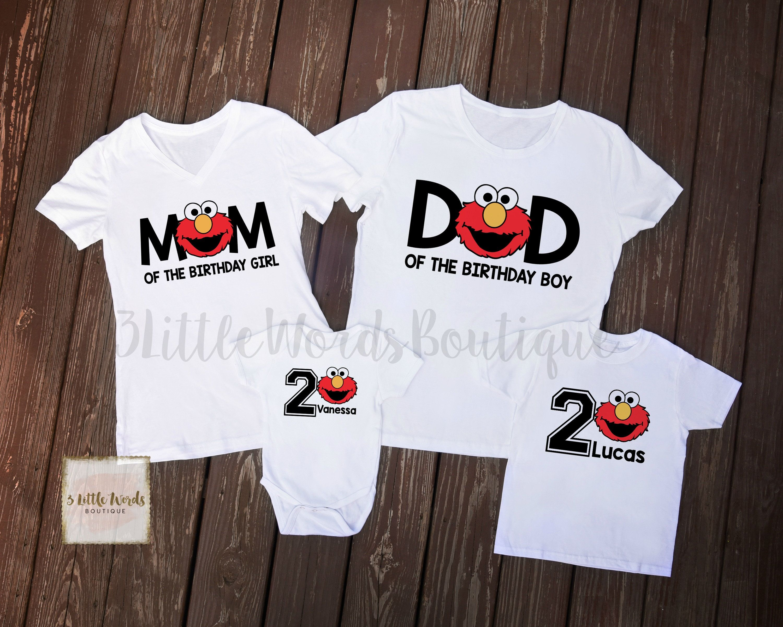 Elmo Family Birthday Shirts Elmo First Birthday Shirt