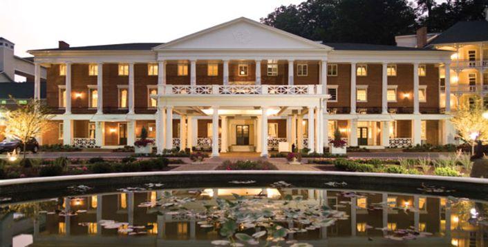 Omni Bedford Springs Resort and Spa, Pennsylvania #ridecolorfully