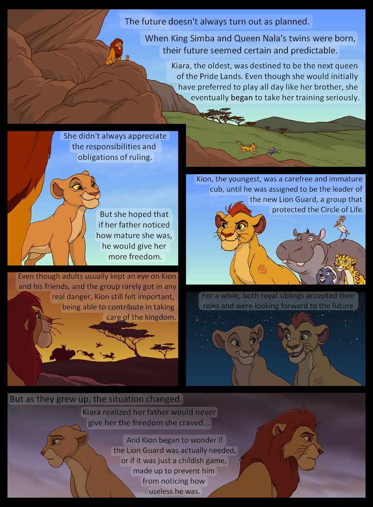 Lion King Kion Cub