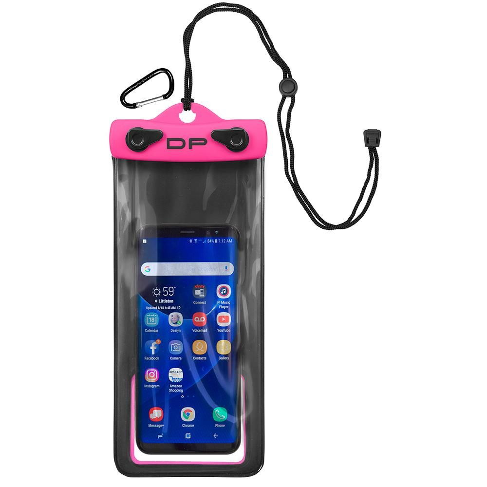 """Dry Pak Cell Phone Case Hot Pink 4/"""" x 8/"""" #DP-48HP"""