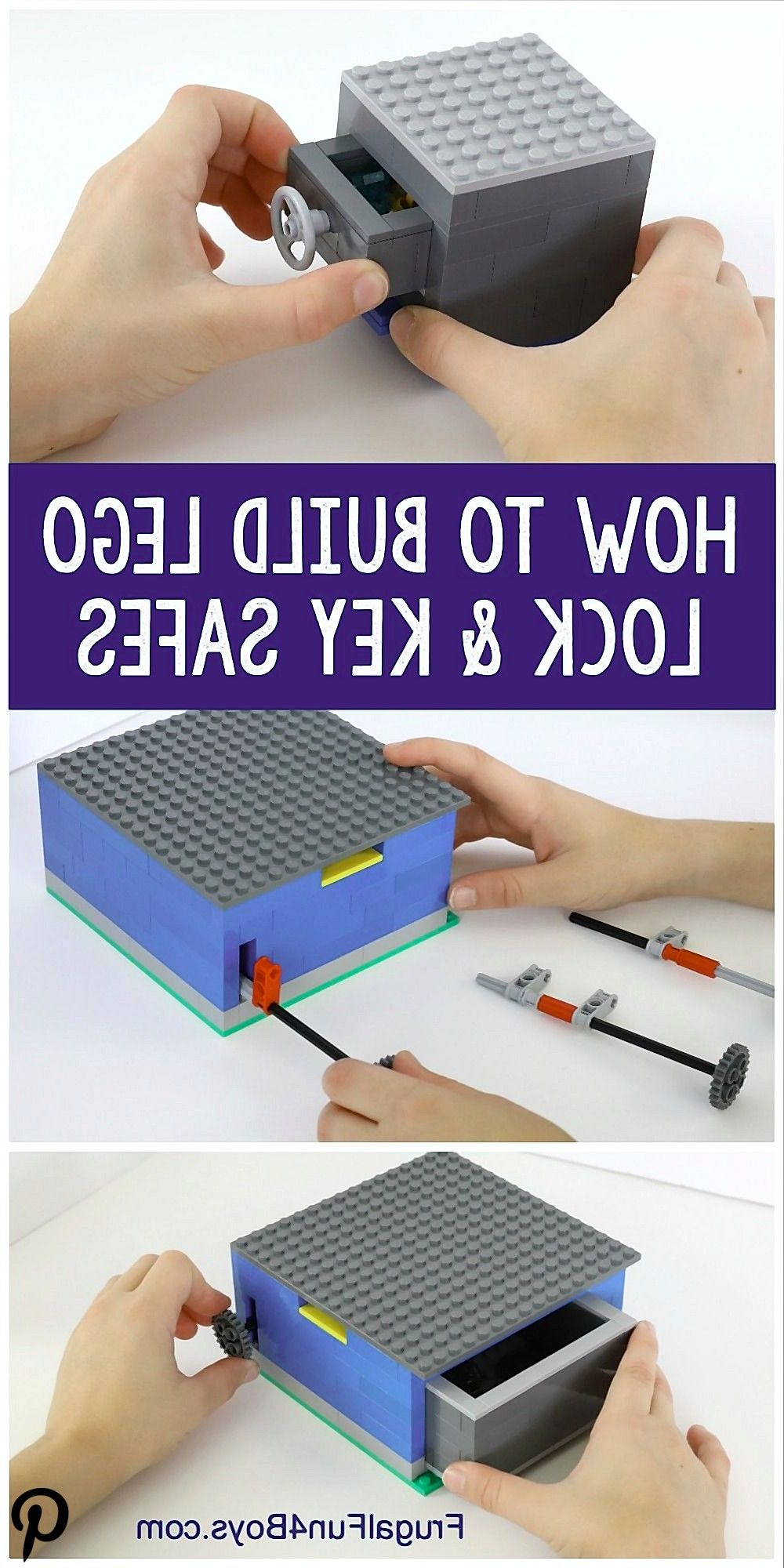 How to Build LEGO Safes with Lock  Key How to Build LEGO Safes with Lock  Key