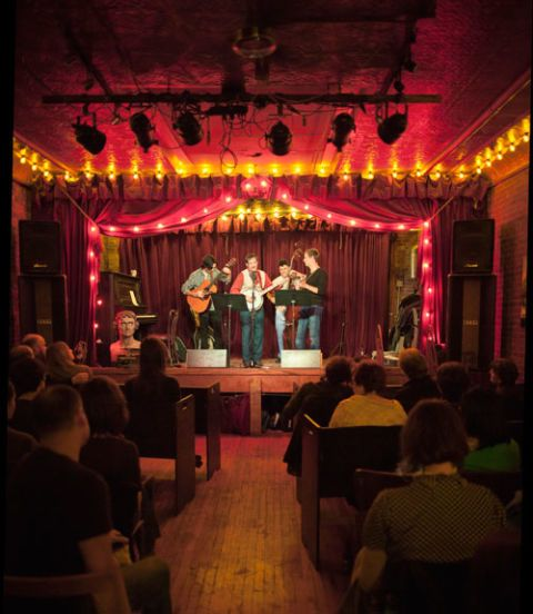 Brooklyn S Small Town Charms Pub Set Small Theatre Concert
