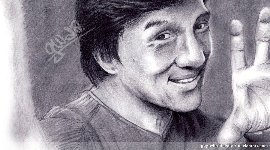 Jackie Chan by guy-who...