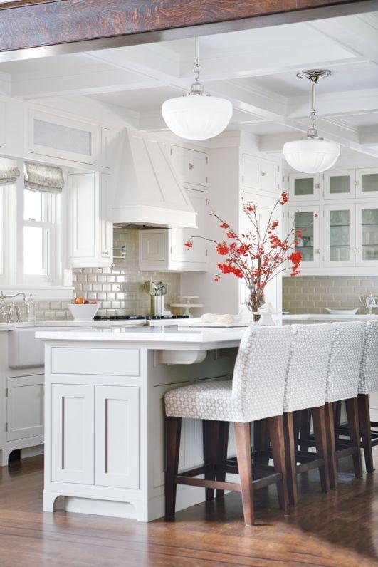 Kitchen Design 101 Counter Vs Bar Kathy Kuo Home Interior Design Kitchen Home Kitchens Kitchen Interior