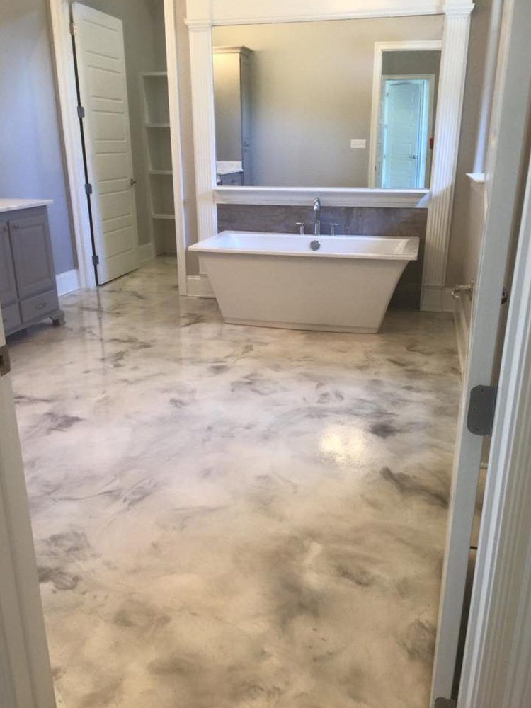 Metallic Floors Step By Step Instructions For Free With Images