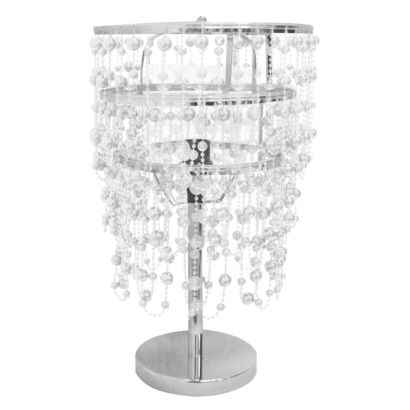 Xhilaration Beaded Table Lamp Clear Quick Information