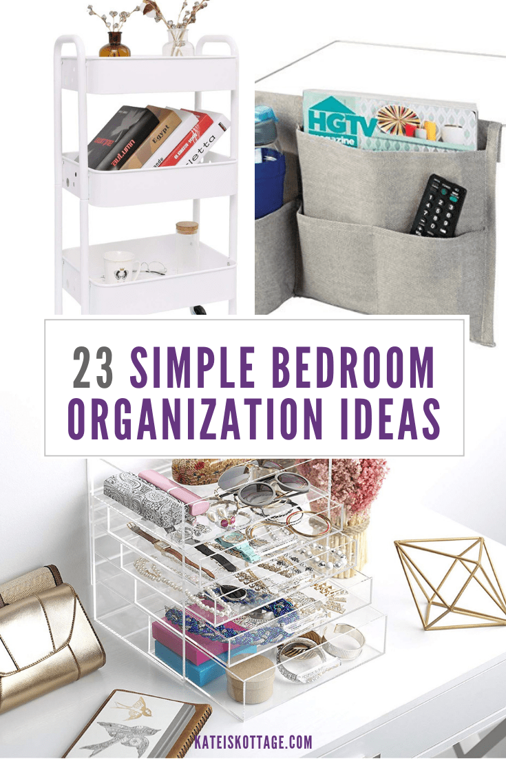 super simple bedroom organization ideas organization