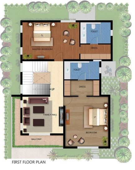 Readymade floor plans readymade house design readymade for Indian home map plan