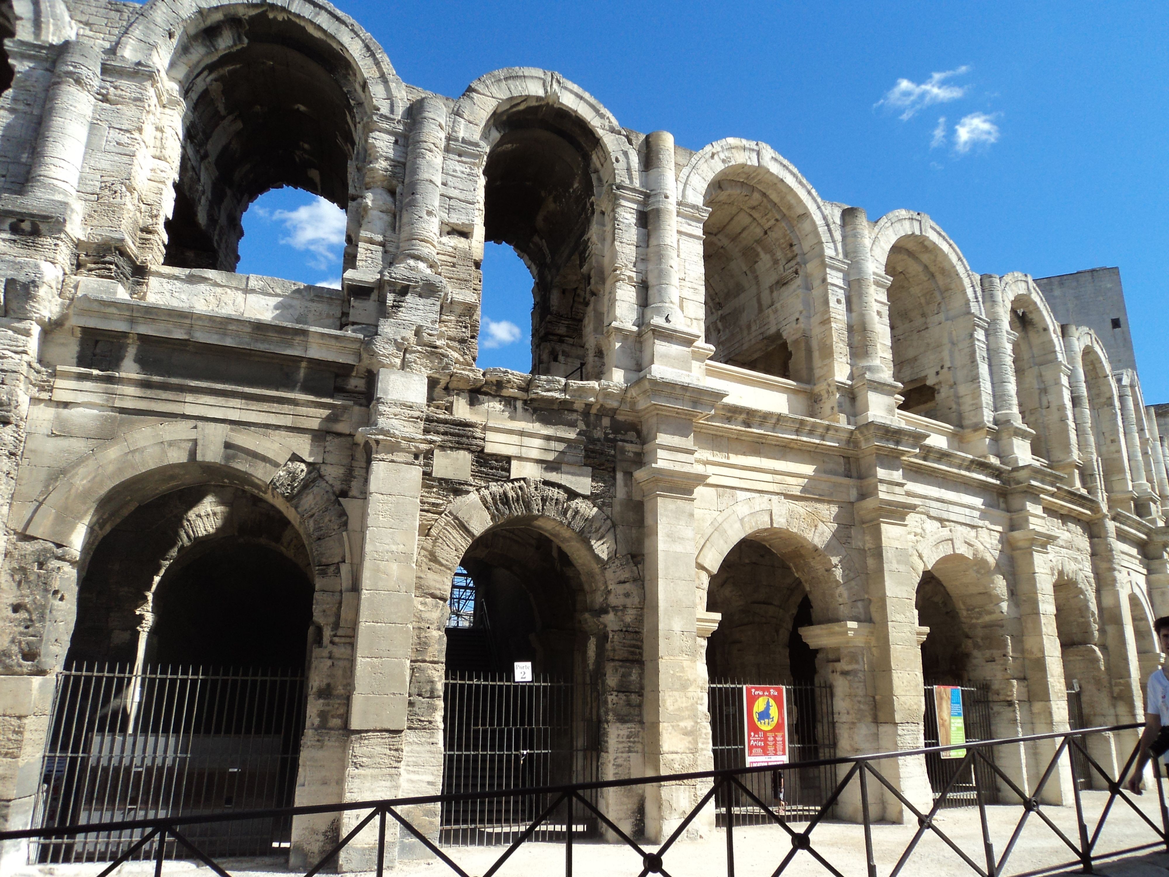 France, Arles, Roman and Romanesque Monuments