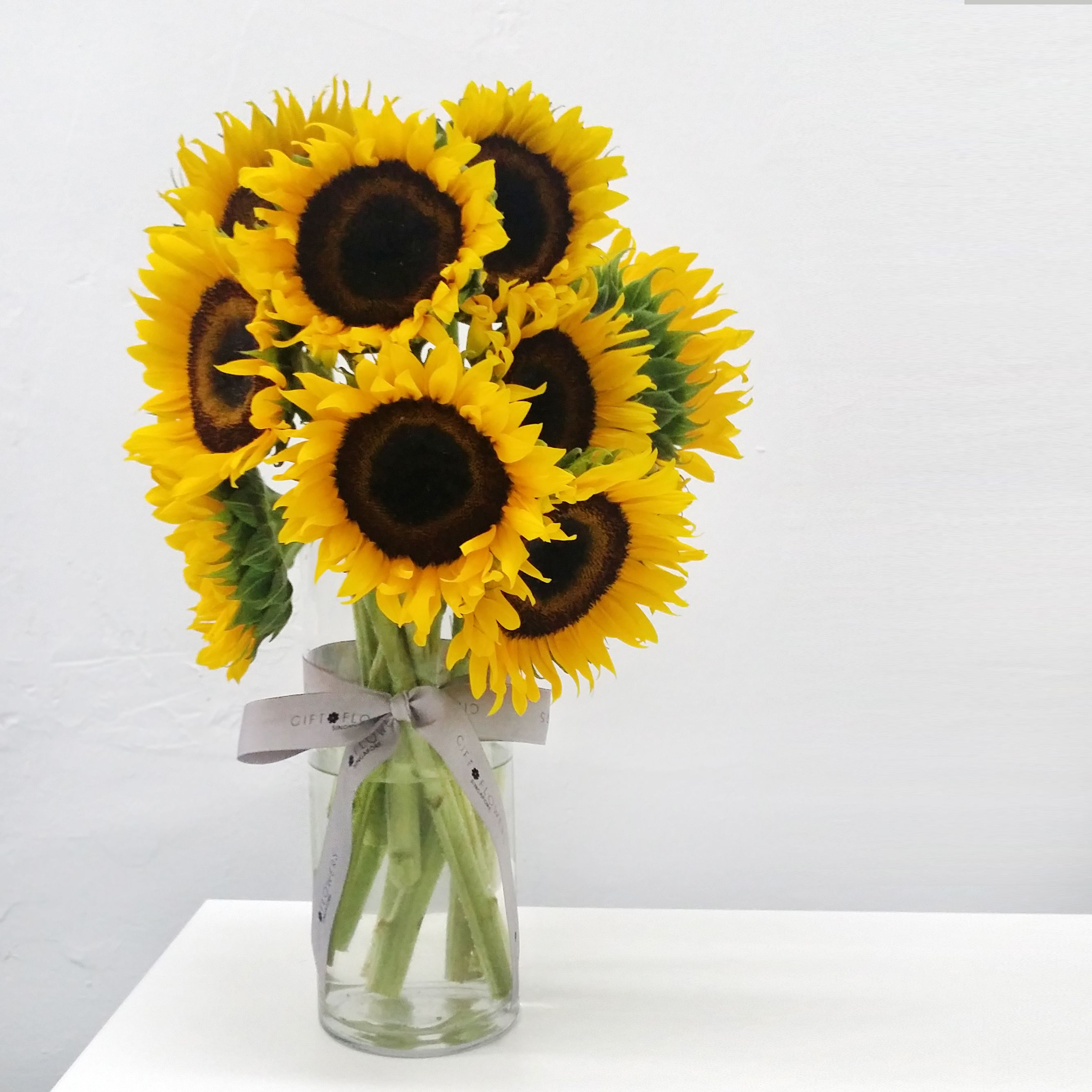 Good Afternoon Featuring Our Sunflowers In A Vase A Gift That Can Be Used To Convey Meanings Of Happiness Love And S Flower Lover Flower Gift Online Florist