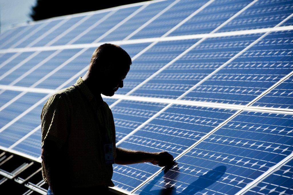 Sistema Fotovoltaico Placas Solares Fotovoltaicas Energia Solar Energia