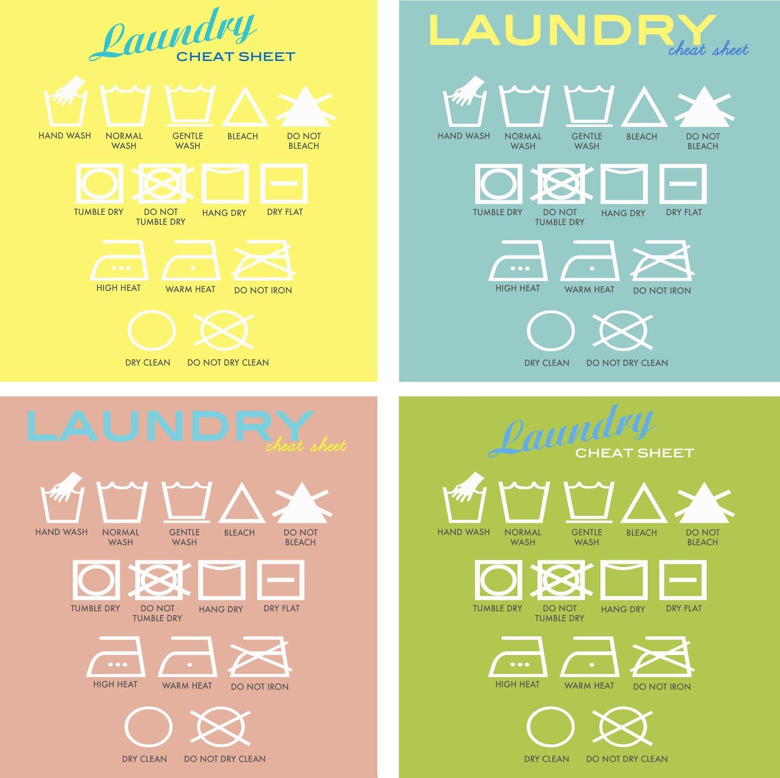 Laundry Symbols Art Toronto Diy Design And Lifestyle Blog About Renovation