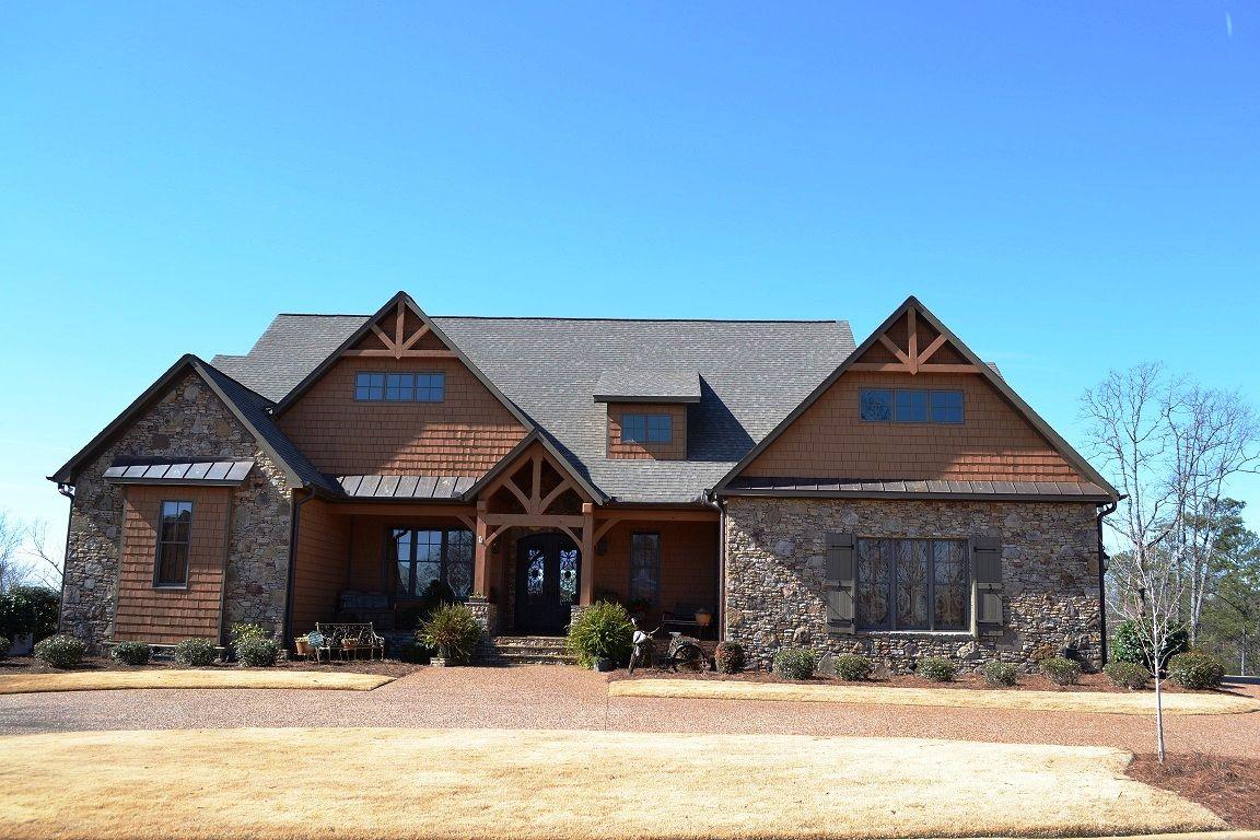 exceptional rock and cedar homes #1: cedar and stucco exteriors