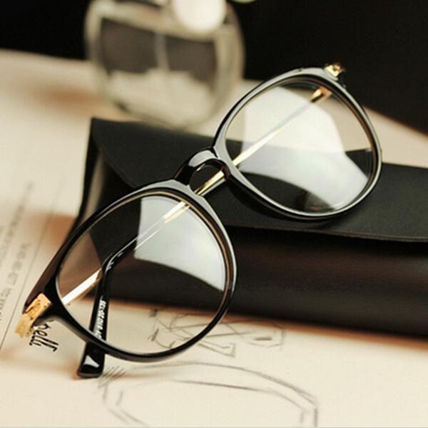 45ac4558ed8 Brand Design Grade Eyewear Eyeglass Frames eyeglasses eye glasses frames  for women Men Plain spectacle frame lady Eyeglass frame