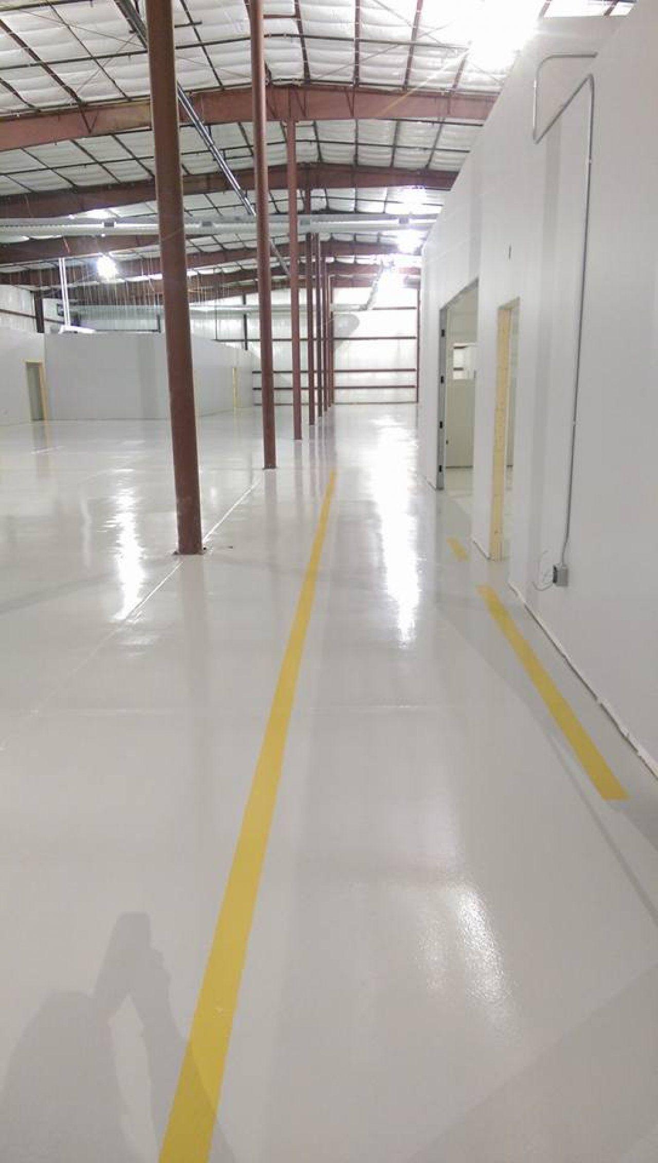 123 Resinous Epoxy Floor In Factory In Des Moines Iowa In 2020 Concrete Decor Des Moines Epoxy Floor