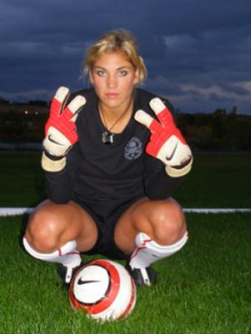Hope Solo 2x Olympic Gold Hope Solo Espn Body Issue Soccer Time