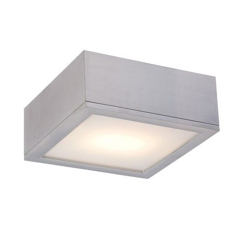 Attractive Rubix 10in Outdoor Flush Mount Ceiling Wall Light. Entrance Ceiling.