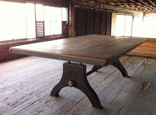 The Daily Scavenger Southern Edition Furniture Dining Table Industrial Dining Table Dining Table
