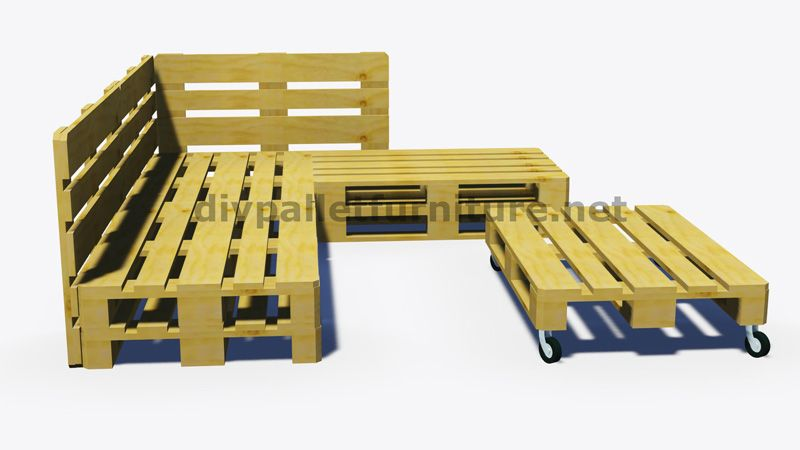 Popolare Istruzioni e progetti 3D di come fare un divano per il giardino  KW49