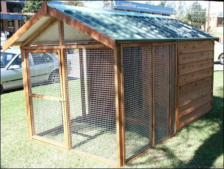 Note Like The Fencing Used Dog Kennels Cedar And Treated