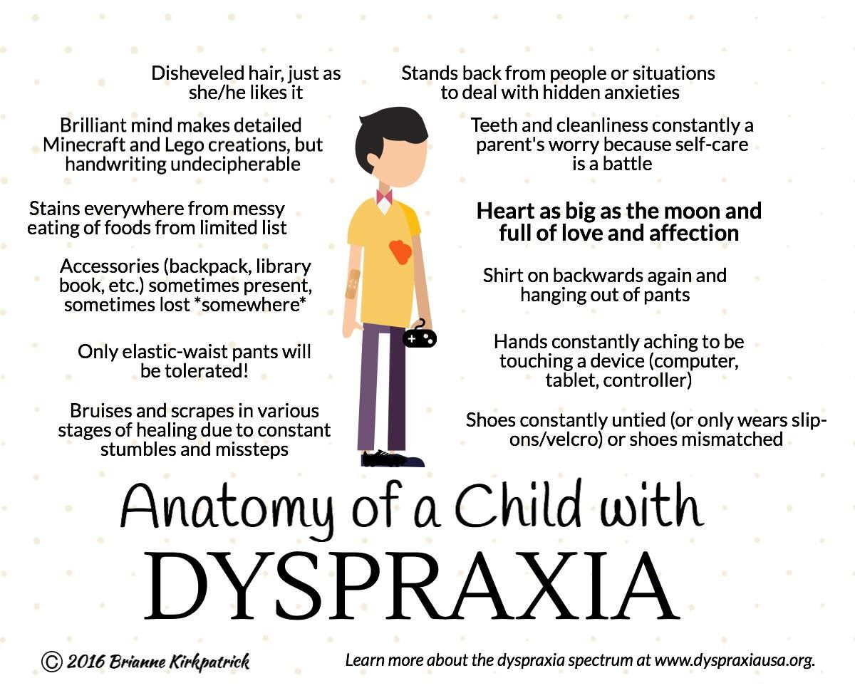 Signs Of Dyspraxia Dyspraxia Counseling Activities Dyslexia