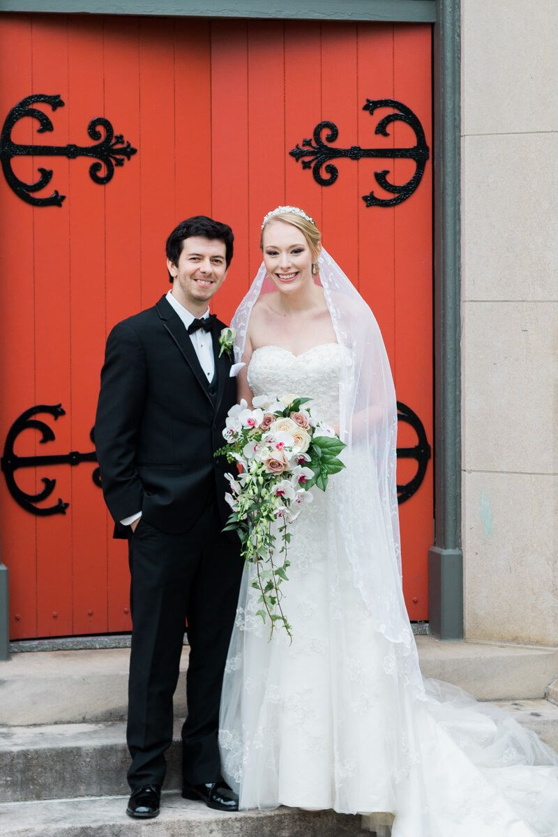 traditional church wedding in downtown memphis   memphis