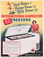 International Harvester Freezers 1951 Ad Picture Harvester International Harvester Walk In Freezer