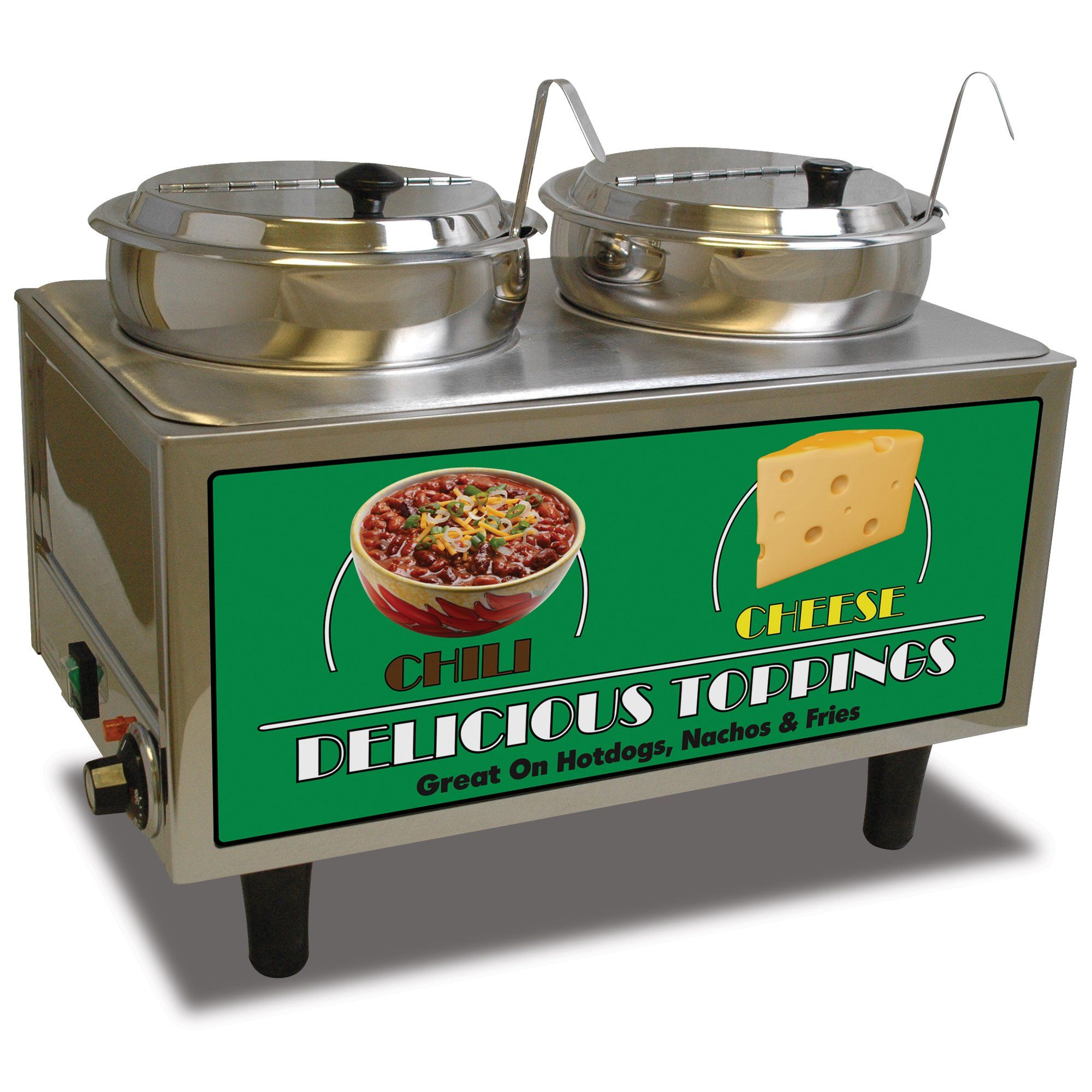 Chili cheese warmer with 2 ladles in 2020